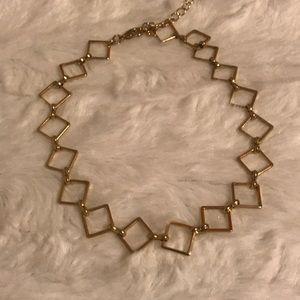 Jewelry - Geometric Gold Choker